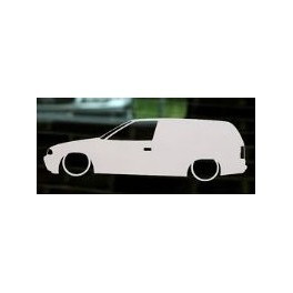 Autocolante - Opel Astra F - Van