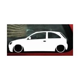 Autocolante - Opel Corsa C 3 Portas