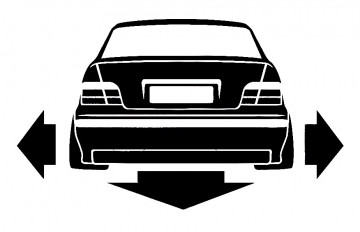 Autocolante para BMW E36