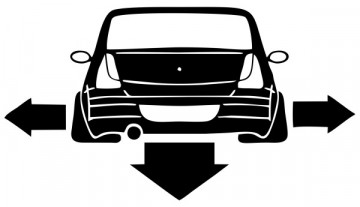 Autocolante para Dacia Logan