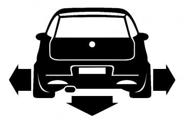 Autocolante para Fiat Punto