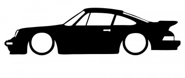 Autocolante para Porsche 911 Turbo