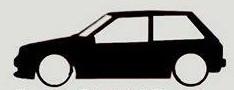 Autocolante para Toyota Starlet