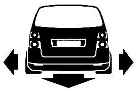 Autocolante para VW Touran