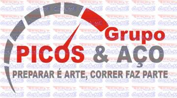 Autocolante - Picos & Aço