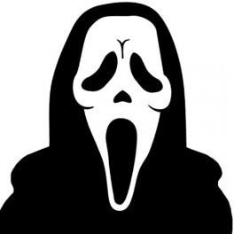 Autocolante - Scream