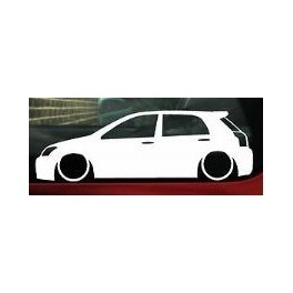 Autocolante - Toyota Corolla 5 Portas