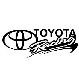 Autocolante - Toyota Racing