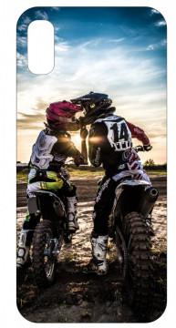 Capa de telemóvel com Motocross Love