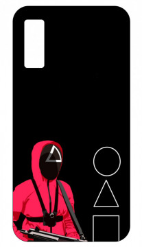 Capa de telemóvel com Squid Game