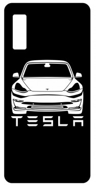 Capa de telemóvel com Tesla Model 3