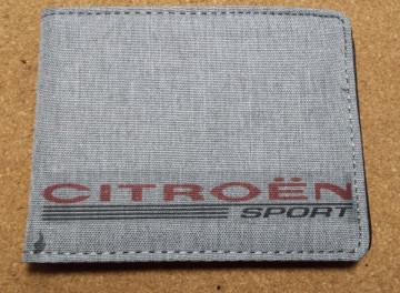 Carteira para Citroen Sport
