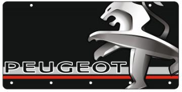 Chaveiro em Acrílico com Peugeot