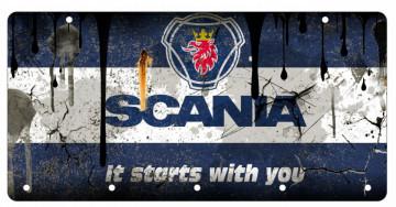 Chaveiro em Acrílico com Scania
