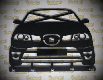 Chaveiro em Acrílico com Seat Ibiza 6L