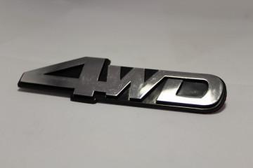 Emblema com 4WD