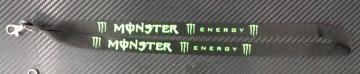 "Fita Porta Chaves com ""Monster Energy"""