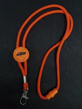 Fita Porta Chaves (lanyard) de Pescoço Ajustável para KTM