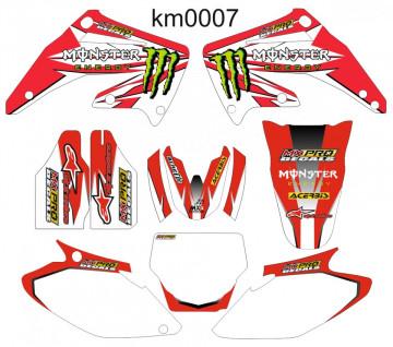 Kit Autocolantes Para Honda CR 250 02-06