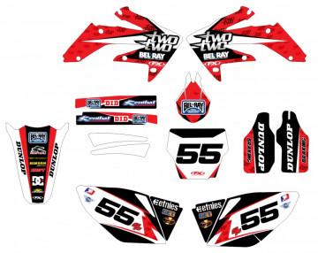 Kit Autocolantes Para Honda CRF 250 04-09