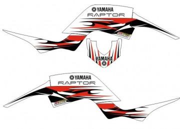 Kit Autocolantes Para Moto - Yamaha Raptor 660