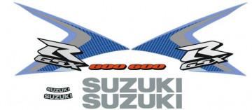 Kit Autocolantes Para Suzuki GSXR 600 2008