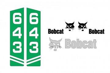 Kit de Autocolantes para BobCat 643