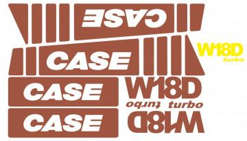 Kit de Autocolantes para CASE W18D
