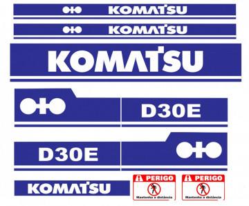 Kit de Autocolantes para KOMATSU D30E
