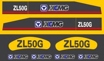 Kit de Autocolantes para XCMG ZL50G