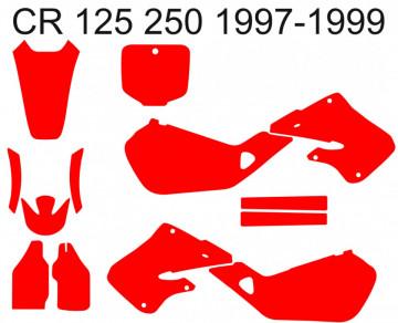 Molde - Honda CR 125 / 250 1997 1998 1999