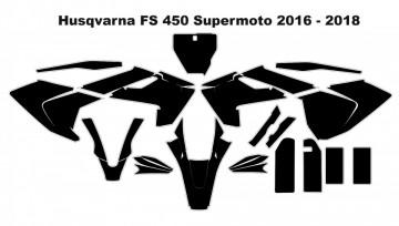 Molde - Husqvarna FS 450 Supermoto 2016 - 2018