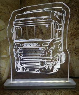 Moldura / Candeeiro com luz de presença - Scania