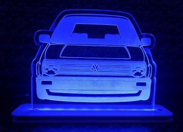 Moldura / Candeeiro com luz de presença - Volkswagen Golf II