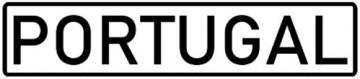 Placa de Matrícula Rectangular em Acrílico - DECORATIVA