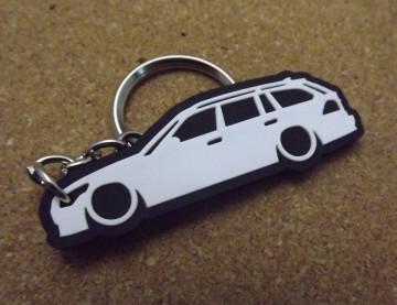 Porta Chaves com silhueta de BMW E61 Touring - Série 5