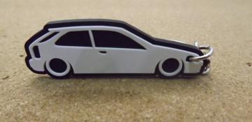 Porta Chaves com silhueta de Honda Civic EK