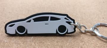 Porta Chaves com silhueta de Opel Astra J