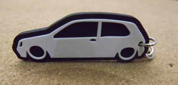 Porta Chaves com silhueta de Renault Clio 1 / MKI
