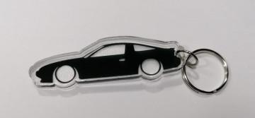 Porta Chaves de Acrílico com silhueta de Nissan 200SX S13