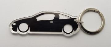Porta Chaves de Acrílico com silhueta de Opel Tigra
