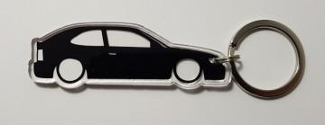 Porta Chaves de Acrílico com silhueta de Toyota Corolla