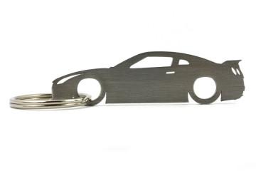 Porta Chaves em inox com silhueta com Nissan Skyline R35 GTR