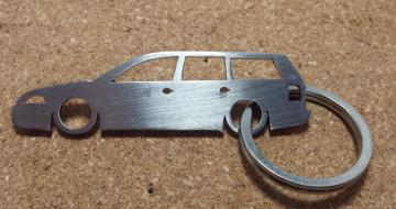 Porta Chaves em inox com silhueta com Volkswagen Passat 3B/3BG