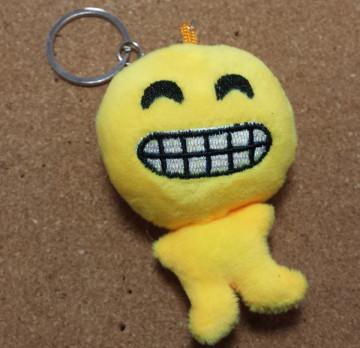 Porta Chaves - Emoji Sorriso cerrado