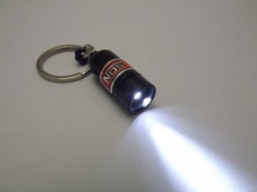 Porta Chaves - Garrafa Nitro em Preto com lanterna