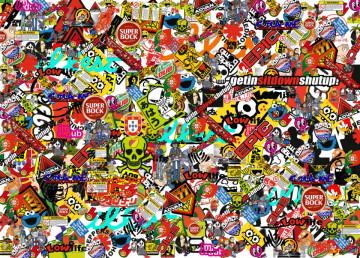 Sticker Bomb - Tekbit / Cola-me