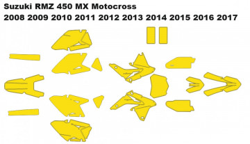 Suzuki RMZ 450 MX Motocross 2008 2009 2010 2011 2012 2013 2014 2015 2016 2017