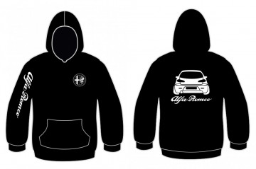 Sweatshirt com capuz para Alfa Romeo 147