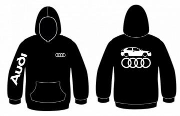 Sweatshirt com capuz para Audi A3 8P Lateral